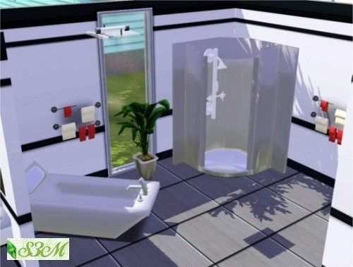 Sims 3 bath, bathroom, decor, objects, set