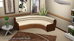 Sims 3 sofa, living, furniture, objects