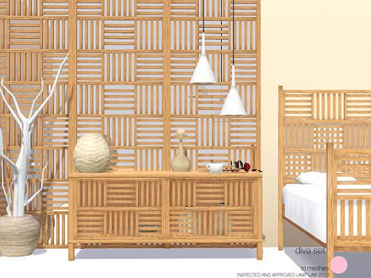 Sims 3 objects, decor, bedroom, living