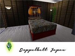 Sims 3 bed, bedroom, furniture, objects, japan