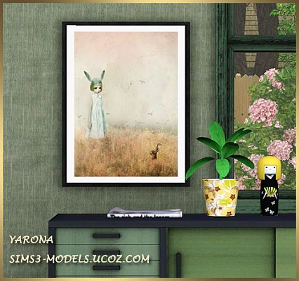 Sims 3 paint, painting, decor, objects