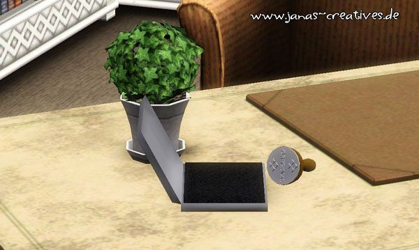 Sims 3 decor, objects, stamp, ink