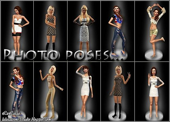 Sims 3 pose, poses, pack, photo
