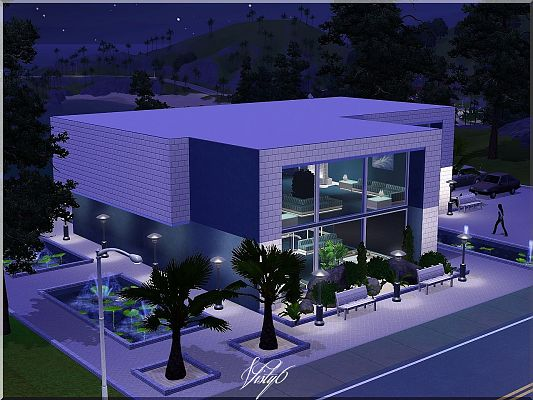 Sims 3 community, lot, building, dance club
