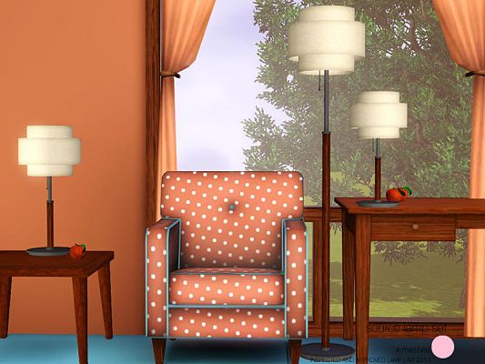 Sims 3 lamp, decor, objects