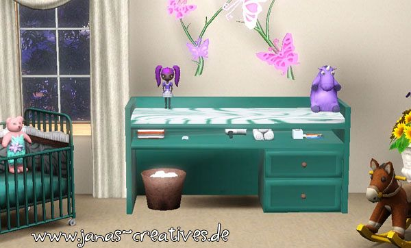 Sims 3 desk, furniture, object