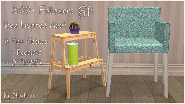 Sims 3 nook, furniture, objects, decor