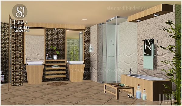 Sims 3 bathroom, decor, furniture, objects