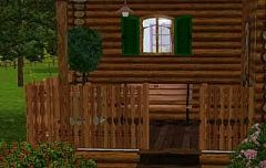 Sims 3 guardrail, fencing, build, arhitecture