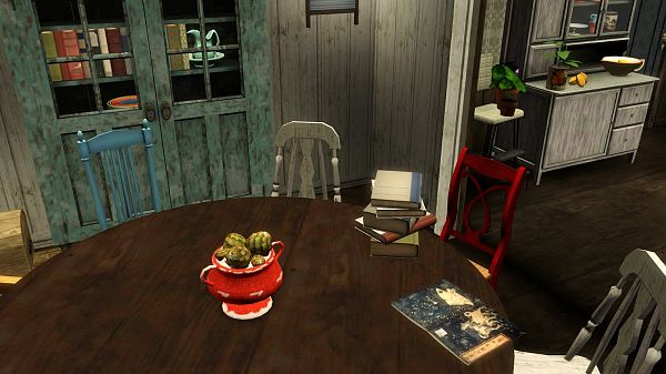 Sims 3 objects, decor, cabinet