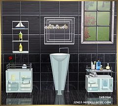 Sims 3 bathroom, objects, decorative, furniture