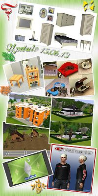 Sims 3 house, lot, residential, sims3, objects, furniture