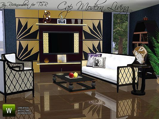 Sims 3 Living Room Ideas
