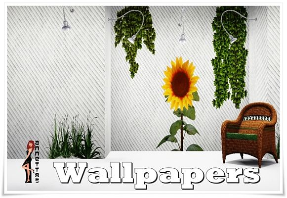 Sims 3 wall, wallpaper, pattern