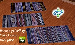 Sims 3 rugs, decor