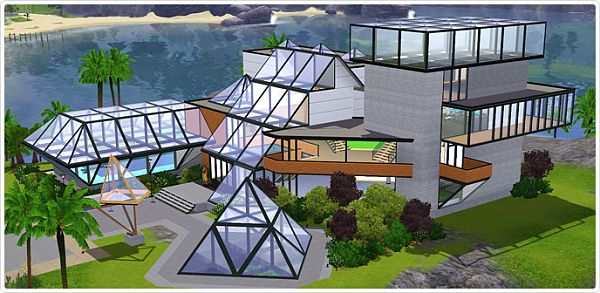 Sims 3 venues, lot, residential