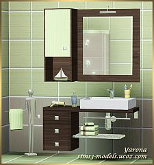 Sims 3 bath, bathroom, furniture, set