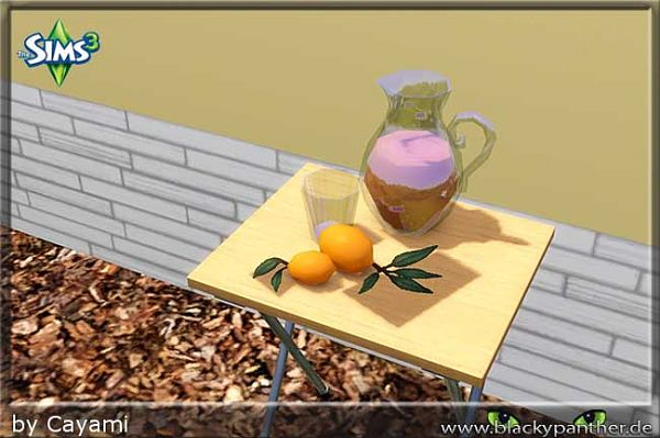 Sims 3 lemon, objects, decor