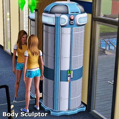 Sims 3 object, sculptor, electronics