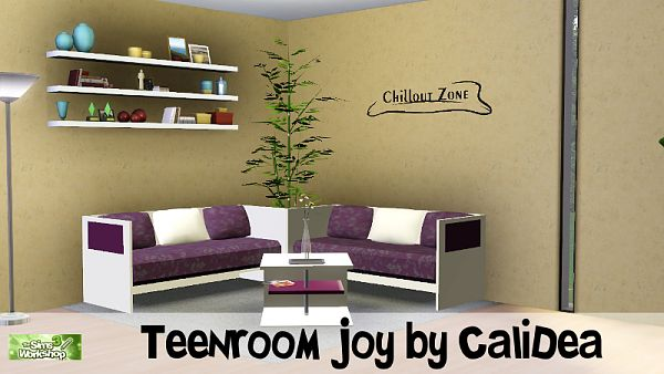 Sims 3  room, furniture, teenroom