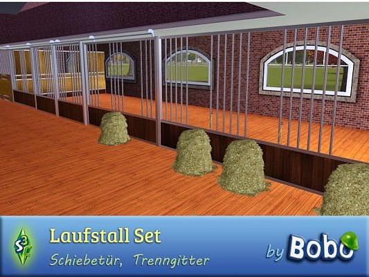 Sims 3 playpen, horse, objects