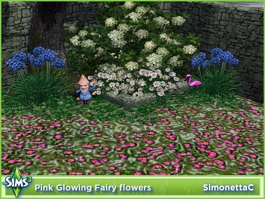 Sims 3 flowers, plant, decor