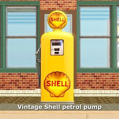 Sims 3 petrol, pump, objects