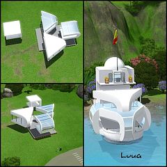 Sims 3 structures, objects, decor, arhitecture