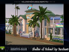 Sims 3 lot, community, resort