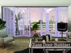 Sims 3 door, build, objects