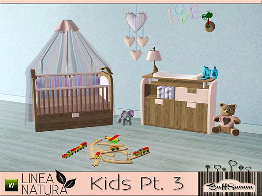 Sims 3 kidsroom, nursery, bedroom, objects, decor