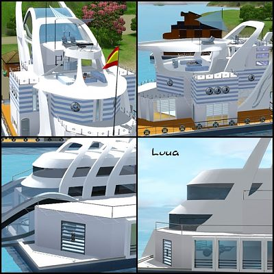 Sims 3 boat, objects, sims3