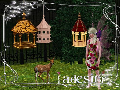 Sims 3 bird, houses, object, decor, cage