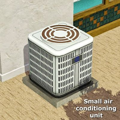 Sims 3 air, conditioning