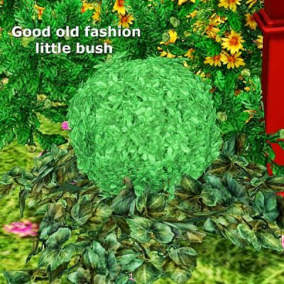 Sims 3 bush, plant, decor