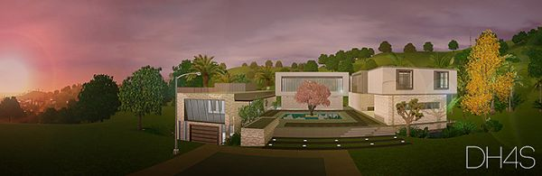Sims 3 house, lot, residential, sims3
