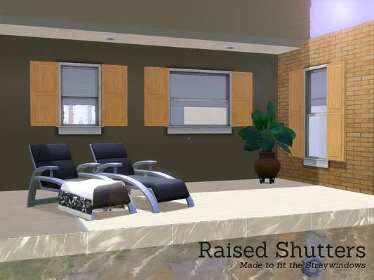 Sims 3 shutters, objects, sims3, decor