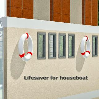 Sims 3 lifesaver, object, decor