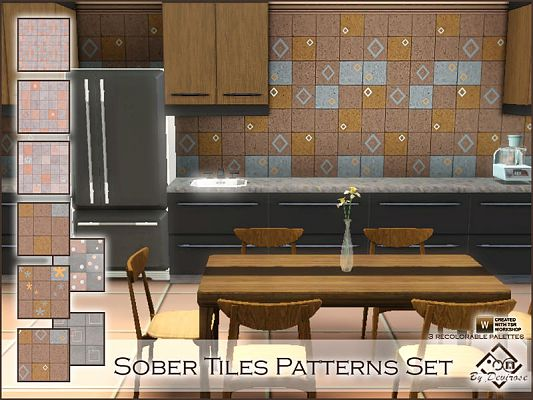 Sims 3 patterns, objects, tiles, sims3