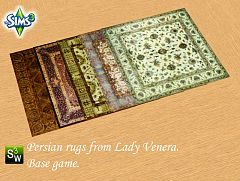 Sims 3 rugs, objects, persian
