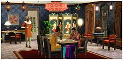 Sims 3 india, living, dining, furniture, clothing