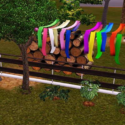 Sims 3 decor, cloth, tapes