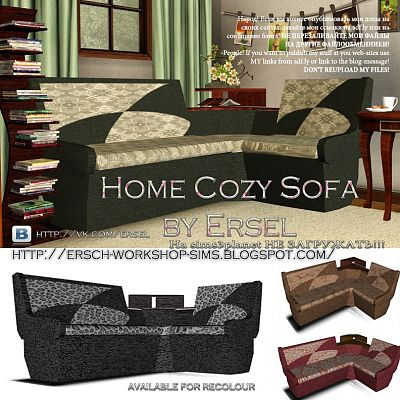 Sims 3 sofa, furniture, objects, decor, sims3
