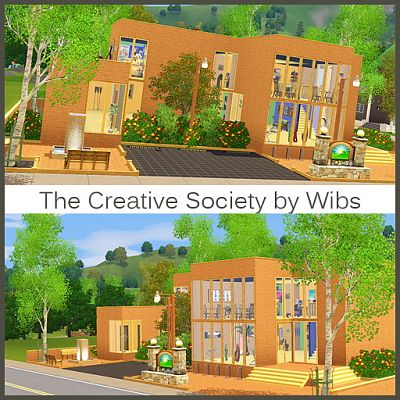 Sims 3 lot, community, gallery