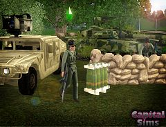Sims 3 military, vehicle, weapons, aircraft