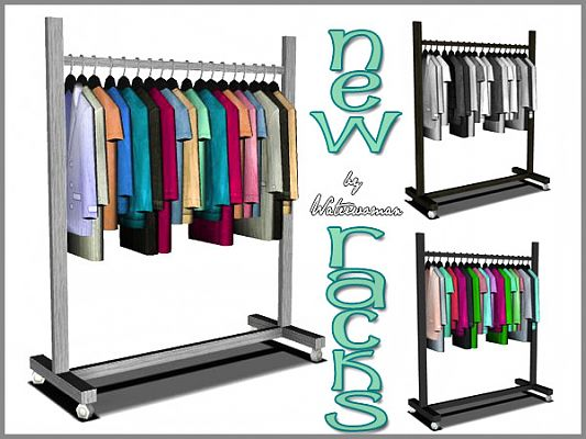Sims 3 racks, furniture, objects