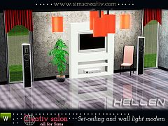 Sims 3 wall, lamps, lighting, objects, sims3