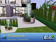 Sims 3 plant, box, outdoor
