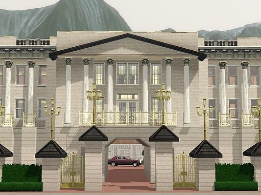 Sims 3 house, lot, residential, sims3, palace