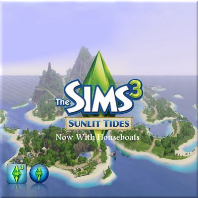 Sims 3 world, neighbourhood, island